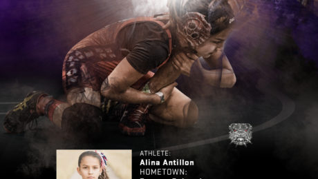 Alina Antillon is one of our favorite Official Tri-Titans Wrestlers