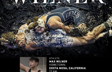 Max Wilner Official Tri-Titan O3T Spotlight wrestling and academic achievements