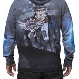 tri-titans ultimate summer seriers hoodie also battle on the midway hoodie back