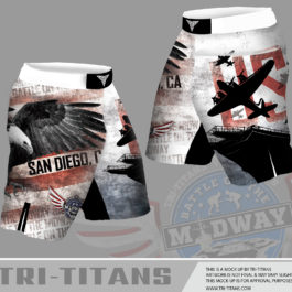 2017 Battle On The Midway Fight Shorts