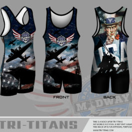 2017 Battle On The Midway Singlet