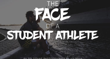 The Face of a Student Athlete by Eljay Pena